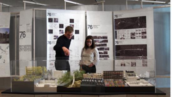 Student work at Rotterdam biennial