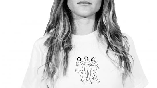 T-shirt by Sean Steed for Jurèma brand