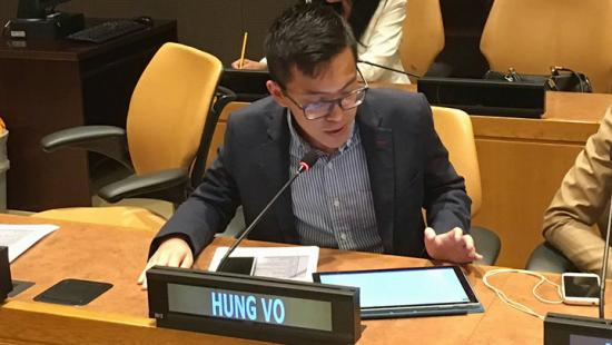 Hung Vo at the U.N.