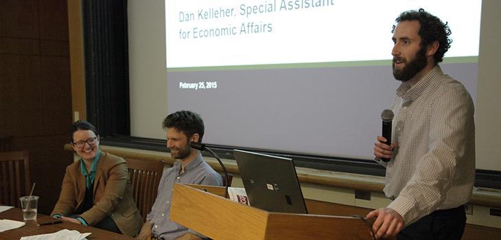 Katelyn Wright, Andrew Bielak, and Daniel Kelleher