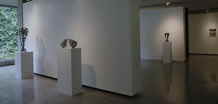 Exhibit of Joel Perlman's sculpture