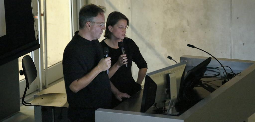 Michael Meredith and Hilary Sample lecture