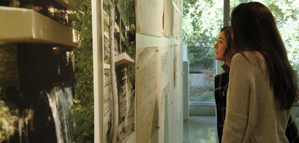 The Restoration of Lynn Hall exhibition