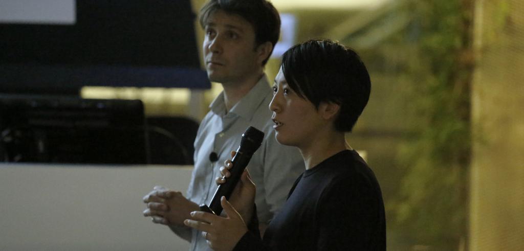 Nicolas Moreau and Hiroko Kusunoki lecture