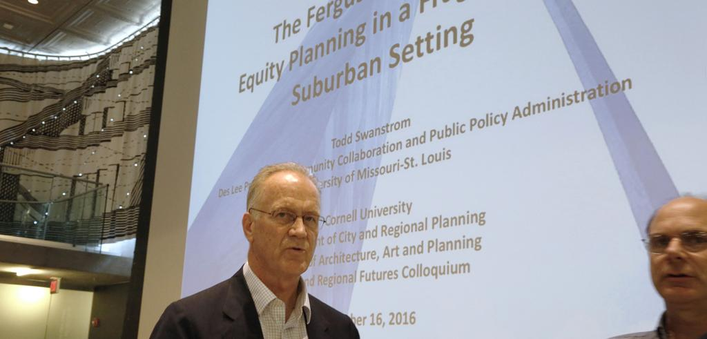 Todd Swanstrom lecture