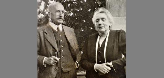 The original owners of Bzionkow, Salo and Elsa Hepner