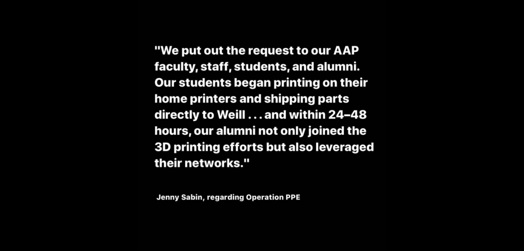 Quote by Jenny Sabin,