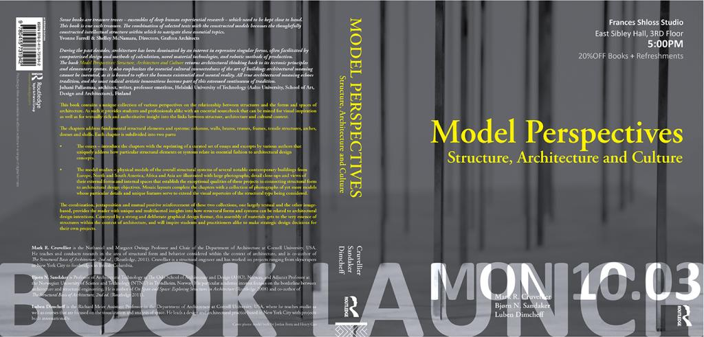 <em>Model Perspectives: Structure, Architecture and Culture</em> launch event details.