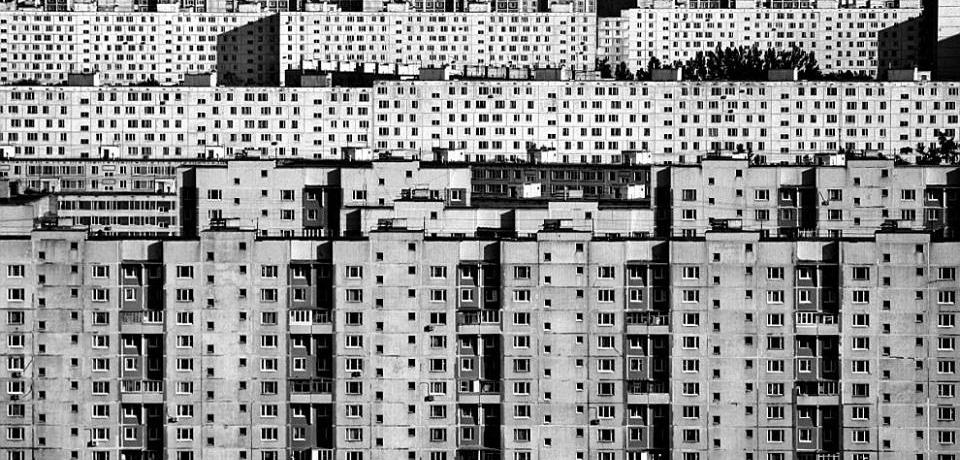 high rises in city