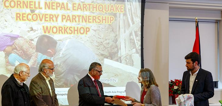 Earthquake relief workshop