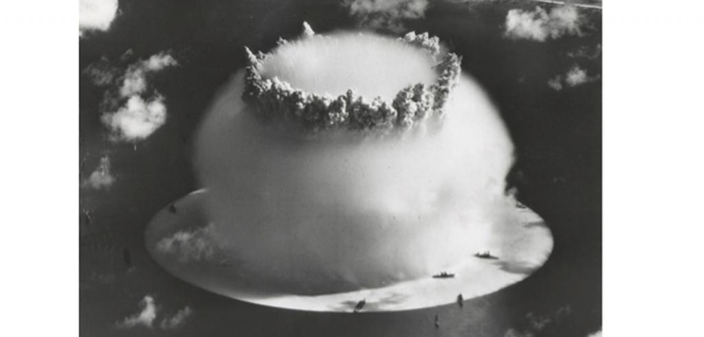 Explosion of an atomic bomb