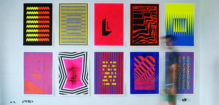 Wall posters by Sean Steed for Jurèma brand