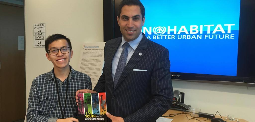 Hung Vo at the U.N.