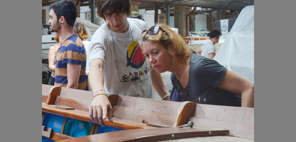 Stephanie Owens examines the Venetian boat