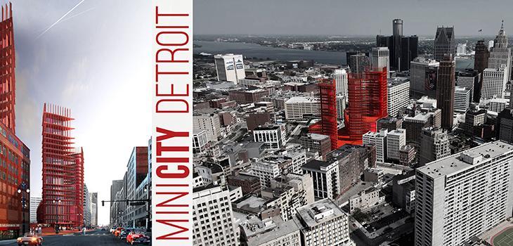 Rendering of MINICITY Detroit.