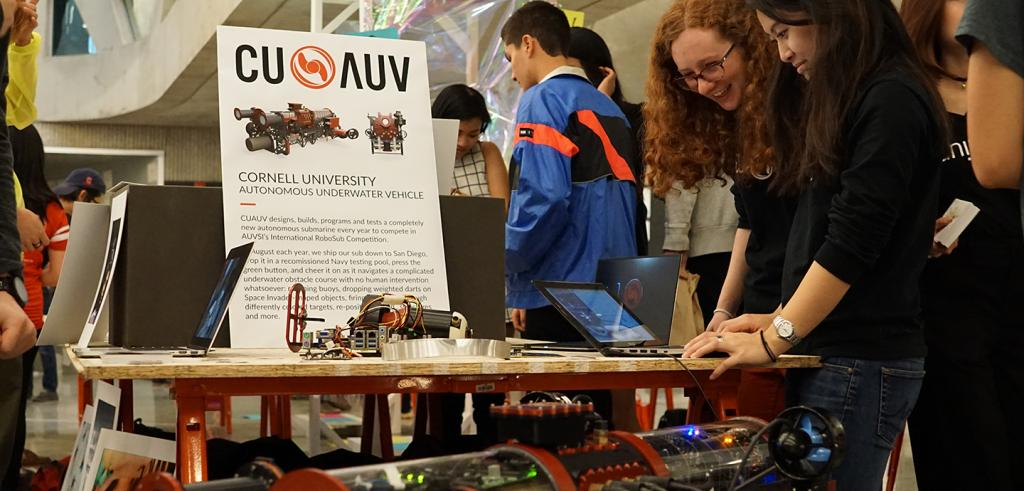 CU AUV at RAW EXPO