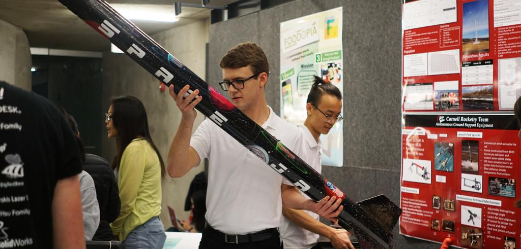 Cornell Rocketry Team at RAW EXPO