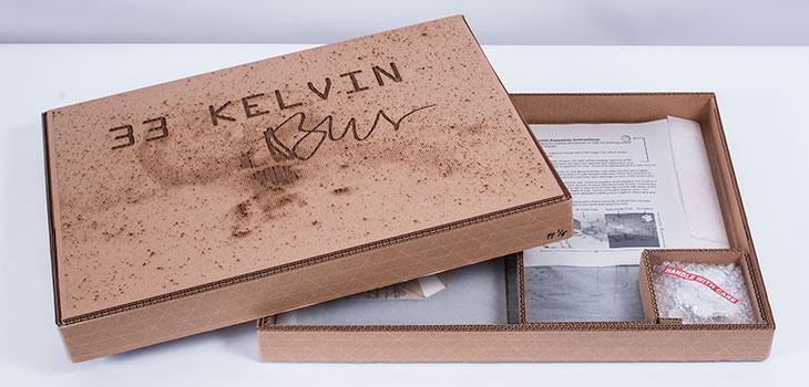 33 Kelvin in box