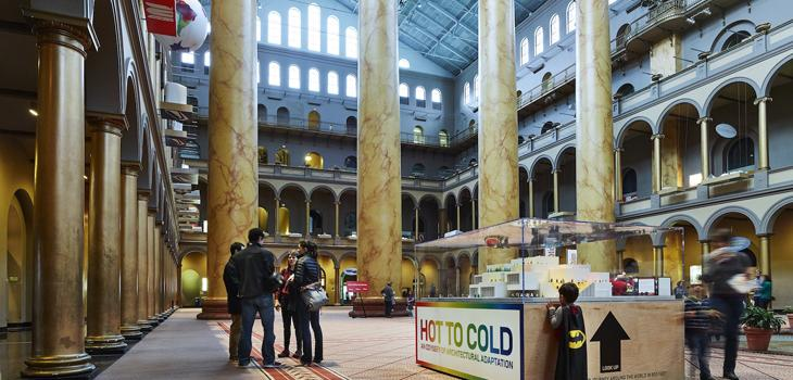 BIG exhibit at the National Building Museum.
