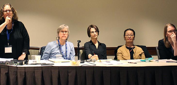Warner and Micklow at APA conferen