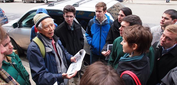 CRP students visit Boston