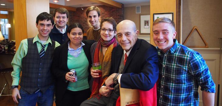 CRP students visit Providence
