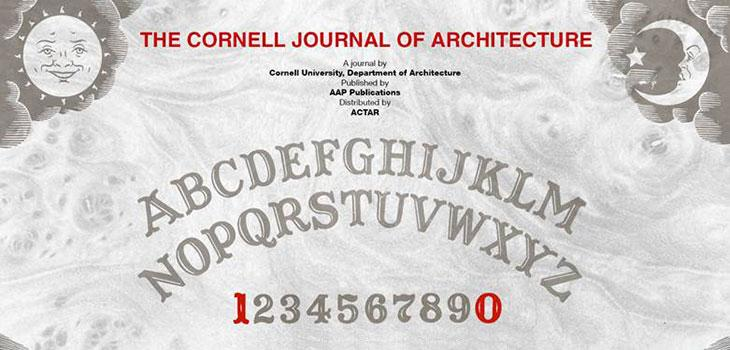 Cornell Journal of Architecture call for submissions