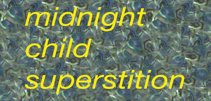 Midnight Child Superstition invitation