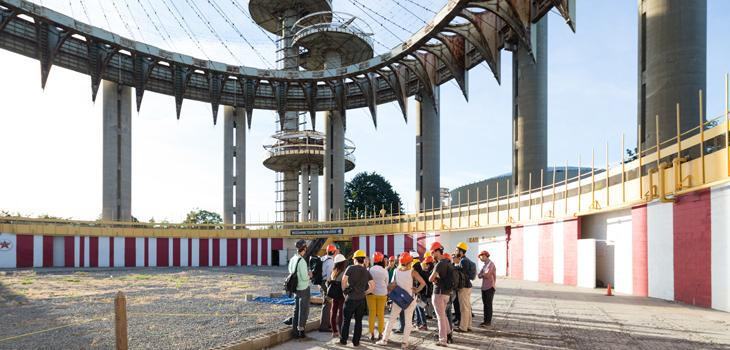 Tour of New York State Pavilion
