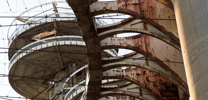 New York State Pavilion roof
