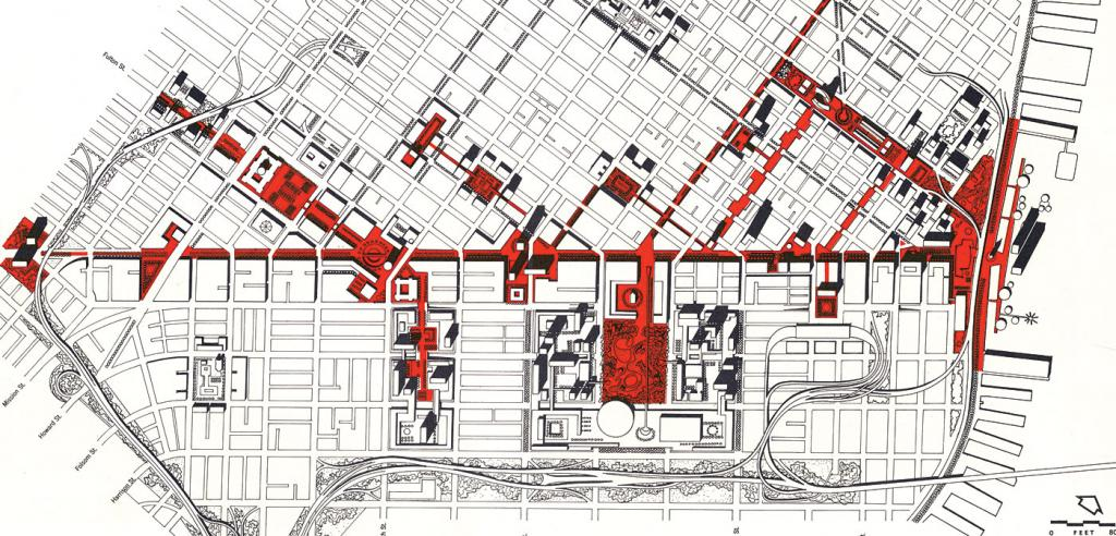 city plan drawing