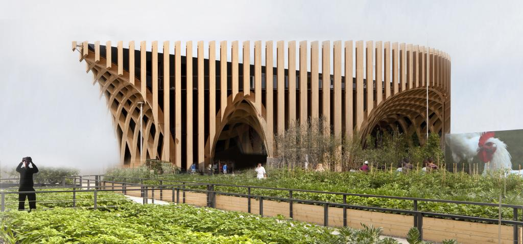 France Pavilion, Milan Expo 2015.
