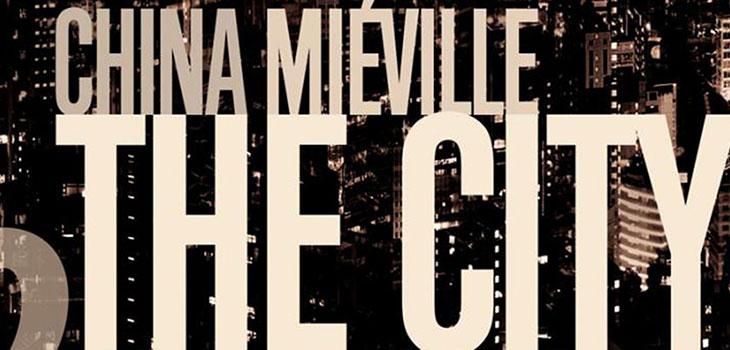 Detail from China Mielville's The City and the City book cover