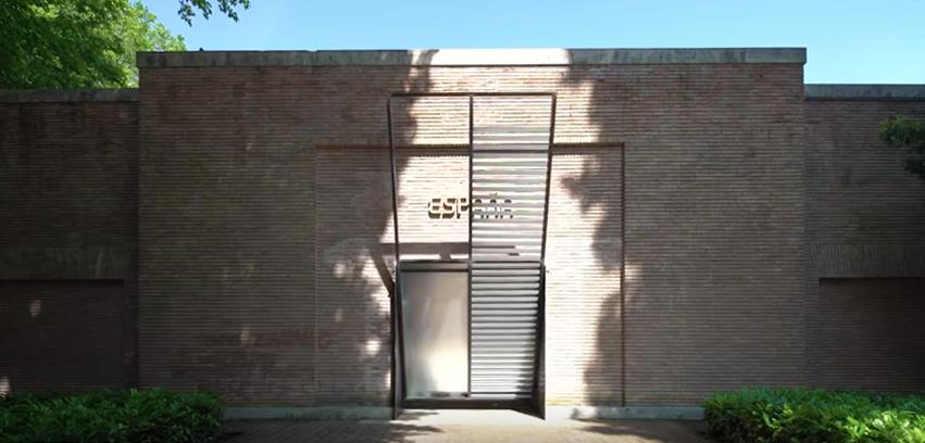 Spanish Pavilion entrance