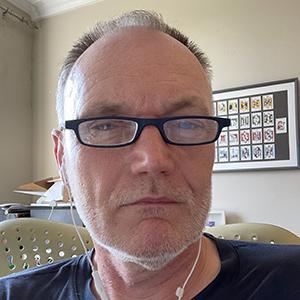 Portrait of Greg Keeffe