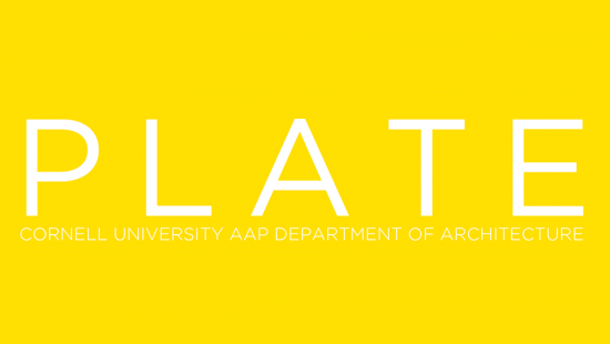 A yellow banner with white text.