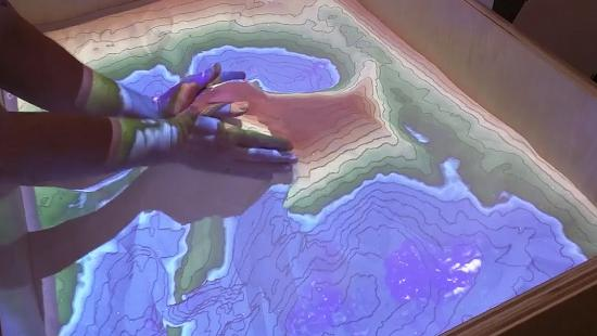 Faculty and Staff Collaborate to Build 3D Terrain