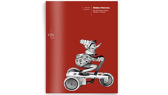 red book cover with a drawing of Pinnochio