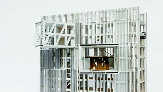 Model of multistory building
