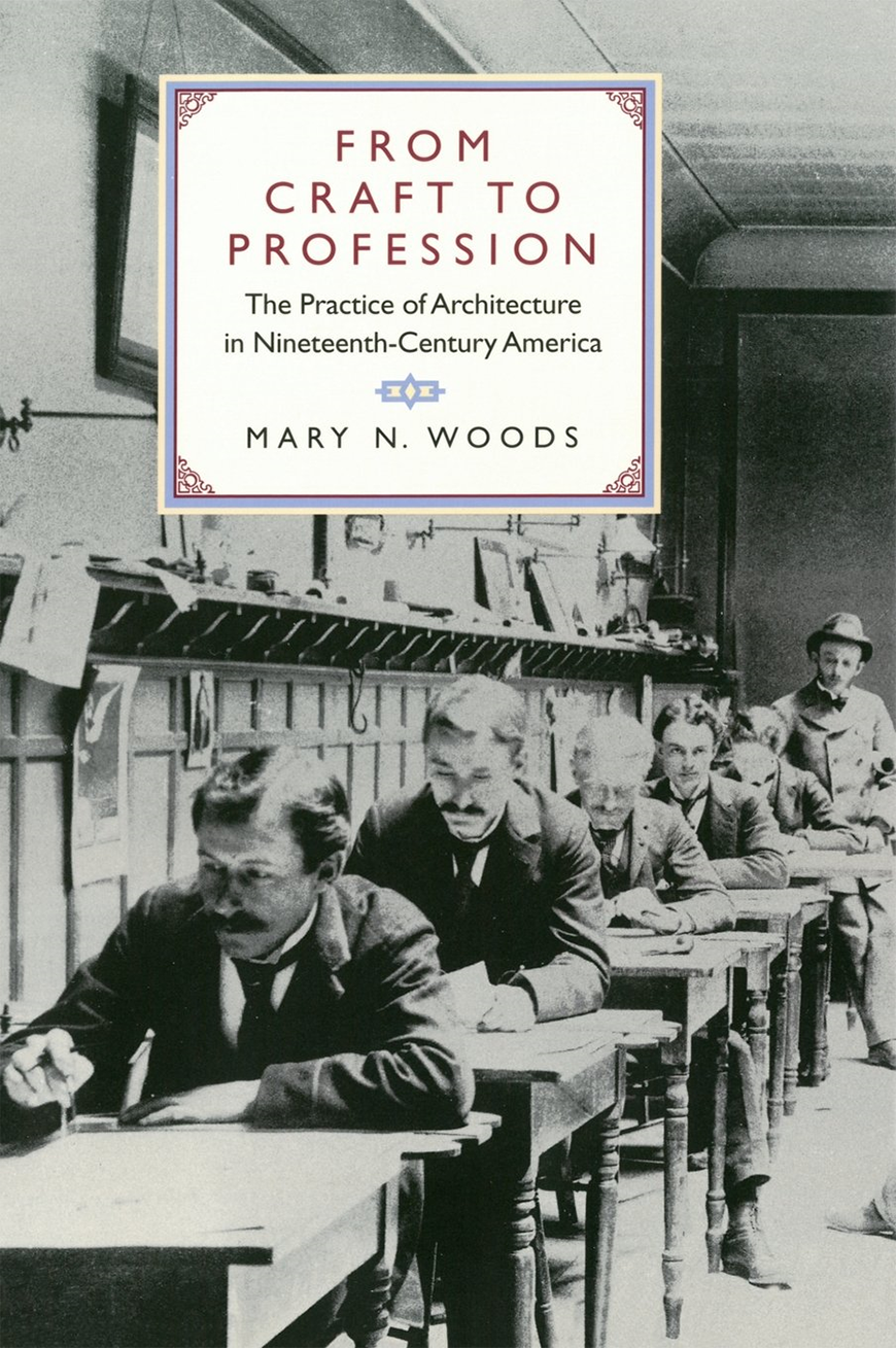 The cover of a book titled From Craft to Profession, by Mary Woods.