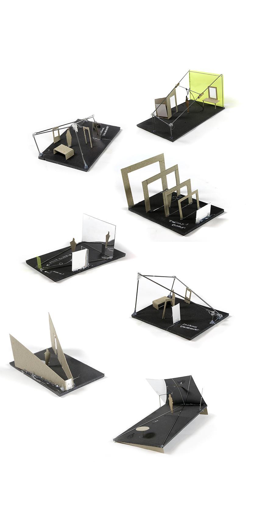 seven models