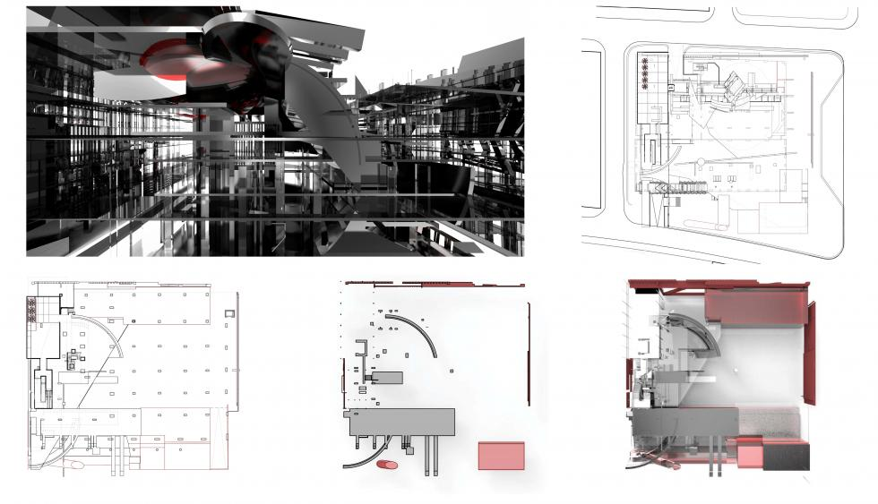 Architectural drawing and rendering