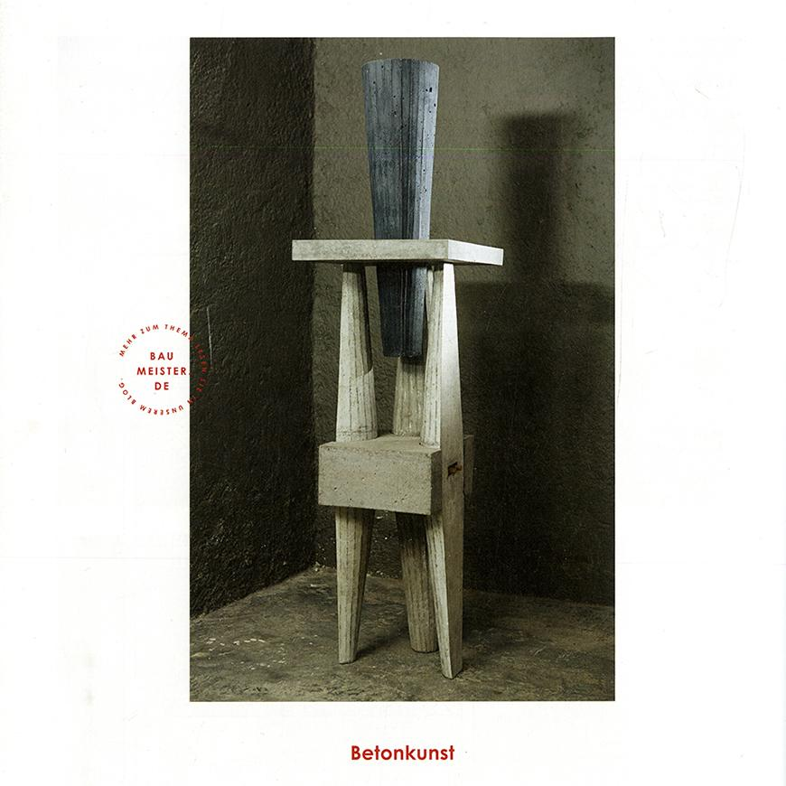 bookcover depicting abstract sculpture