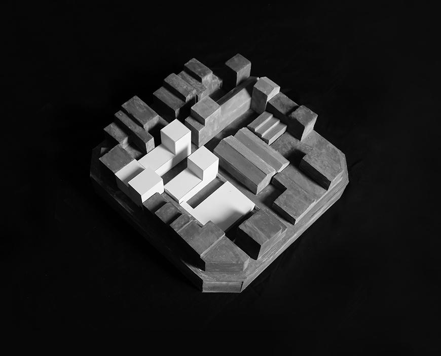 Rockite architectural model