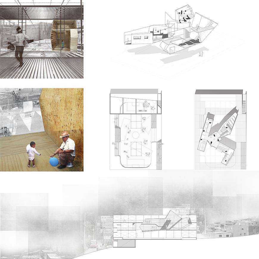 Project proposal of color renderings and sections