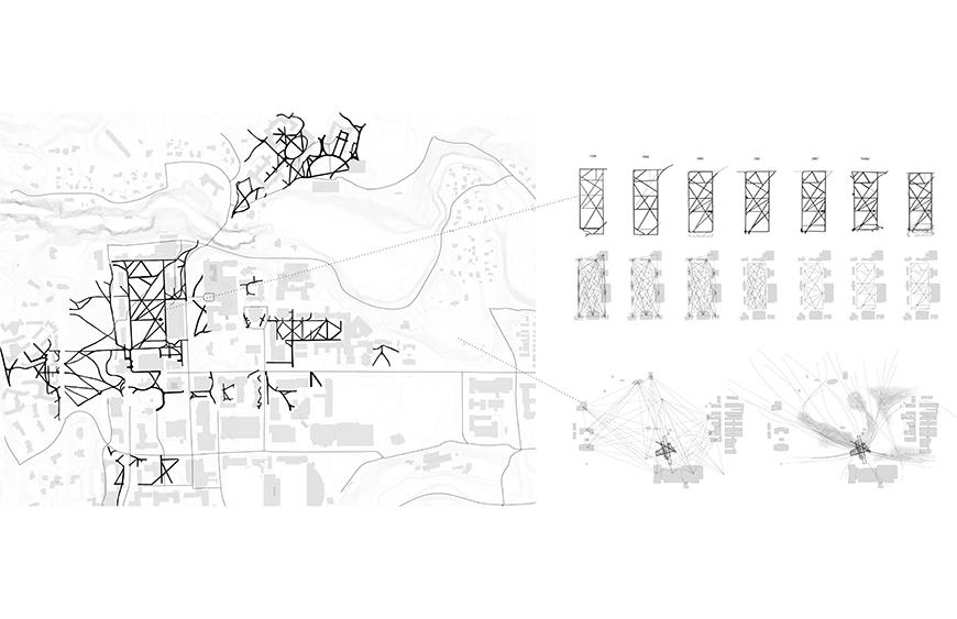 Site plan and diagram