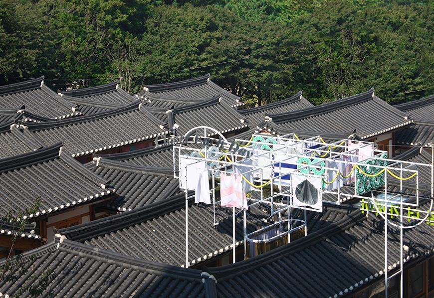 roof tops with additional structure