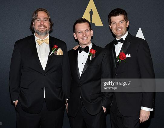 Jeff Budsberg with DreamWorks Animation collaborators