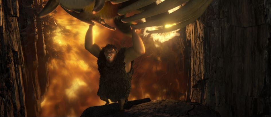 Croods destruction scene by Jeff Budsberg