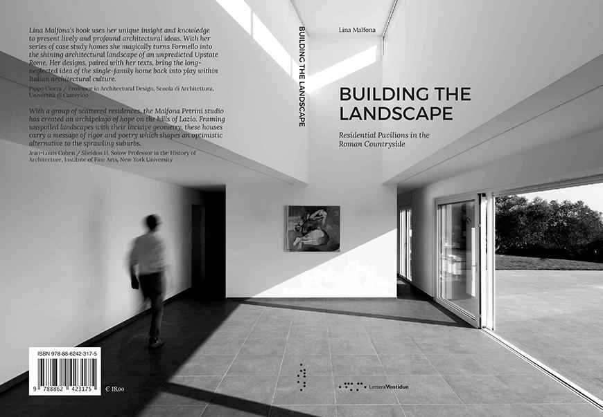book cover that says Building the Landscape